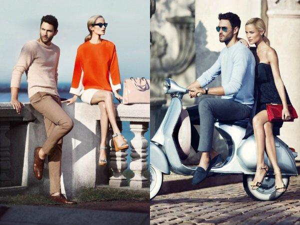 Рекламная кампания Carlo Pazolini весна-лето 2013