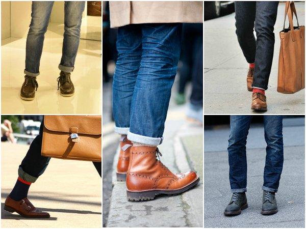 Брюки и джинсы с подворотом (3)
