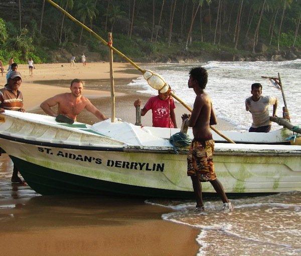 Дмитрий Глебов на Шри-Ланке