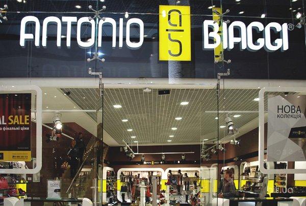 Открытие магазина Antonio Biaggi в ТРЦ Ocean Plaza