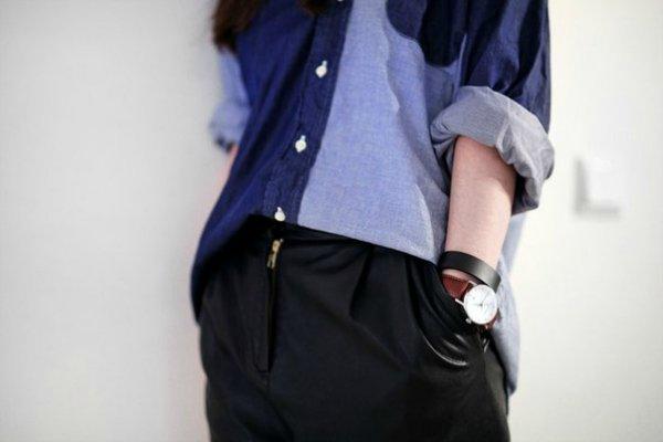 Джинсовая рубашка (2)