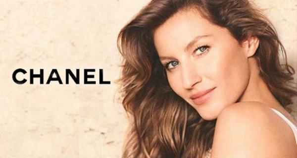 Gisele Bundchen Chanel Les Beiges Campaign