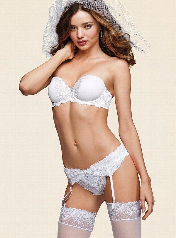 Свадебная коллекция Victoria's Secret с Мирандой Керр в главной роли
