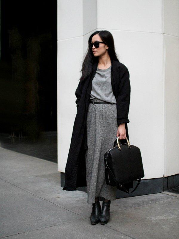 Пальто макси