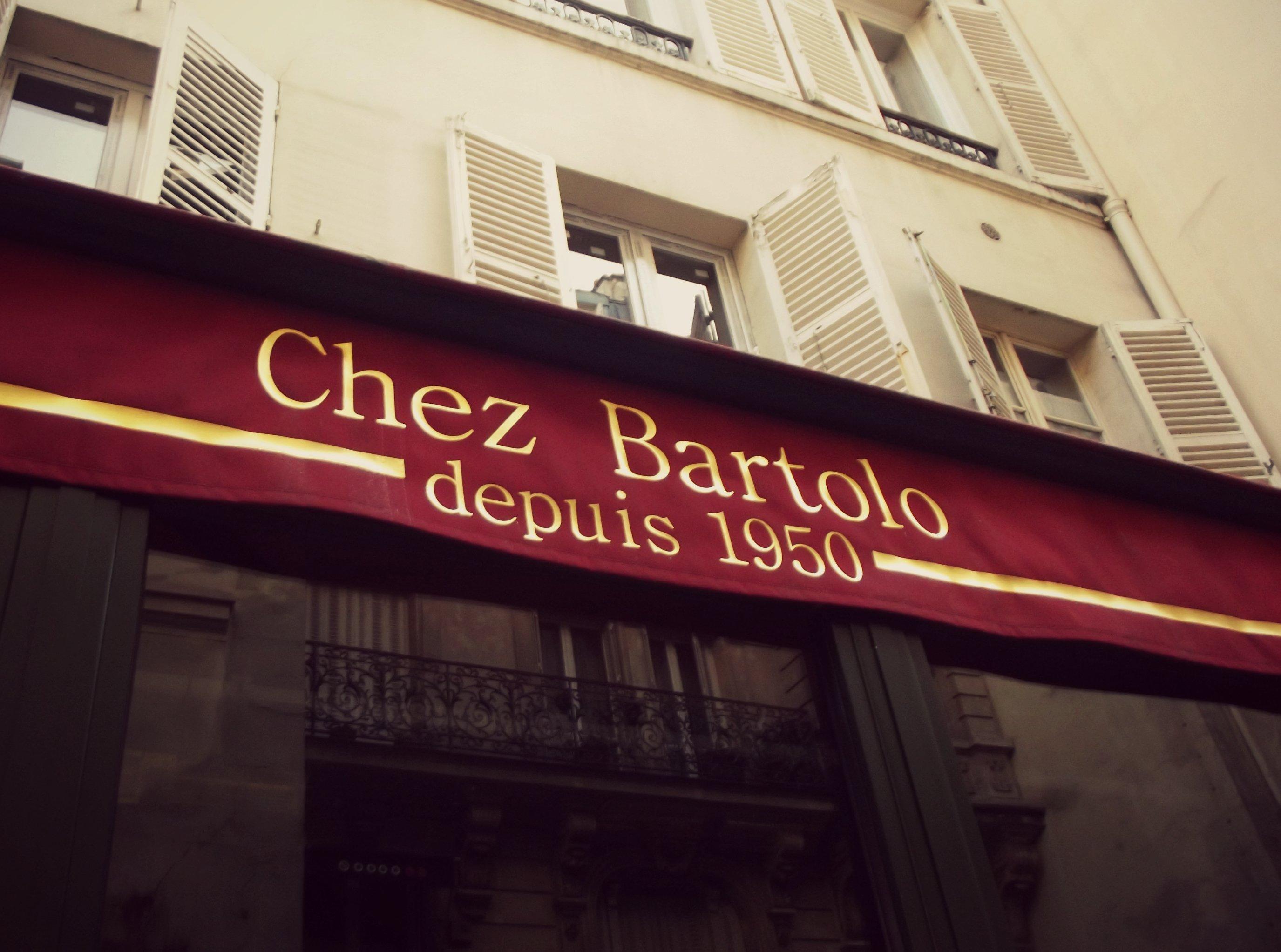 Первая пиццерия в Париже