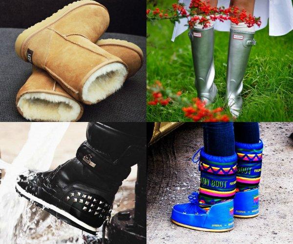 Валенки, луноходы, резиновые сапоги, теплая непромокаемая обувь
