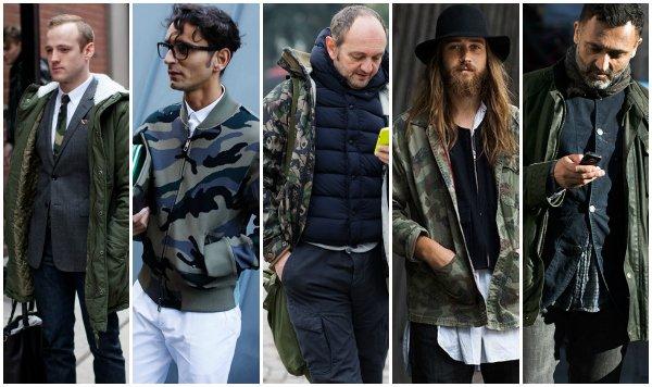ак это носить: 5 мужских образов с курткой в стиле милитари