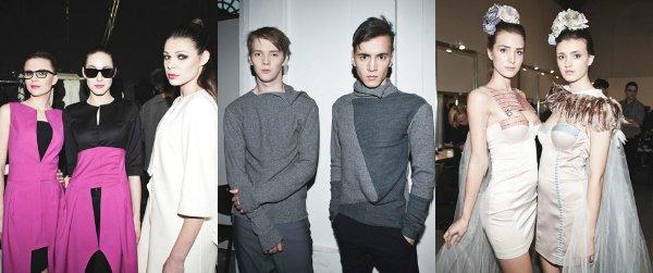 Backstage показов Fresh Fashion осень-зима 2013-2014