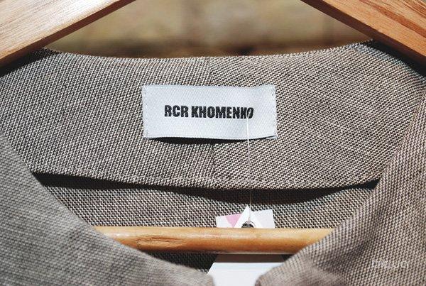 Презентация капсульной коллекции RCR Khomenko для Володимирской 12б