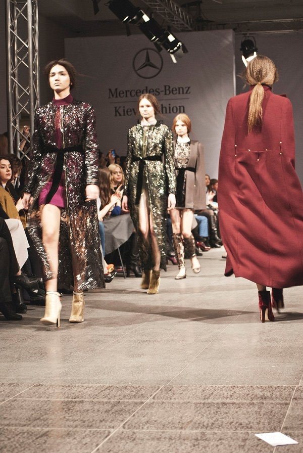 Открытие Mercedes-Benz Kiev Fashion Days