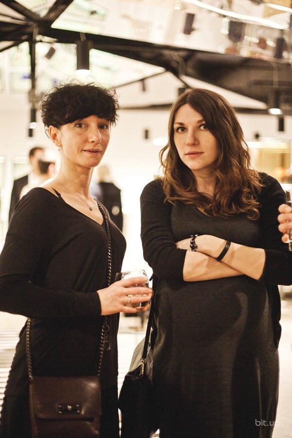 Анна Санден и Татьяна Гринёва