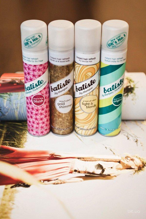 Сухие шампуни Batiste