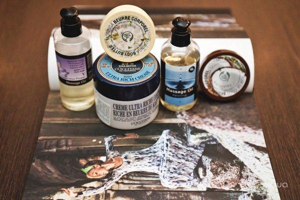 Body Butter, The Body Shop; Shea Butter Ultra Rich Body Cream, L'Occitane