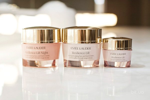 Resilience Lift Day Cream, Estee Lauder; Resilience Lift Night Cream, Estee Lauder; Resilience Lift Eye Cream, Estee Lauder
