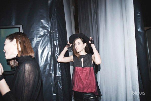 Backstage показа  Elena BURENINA осень-зима 2013-2014
