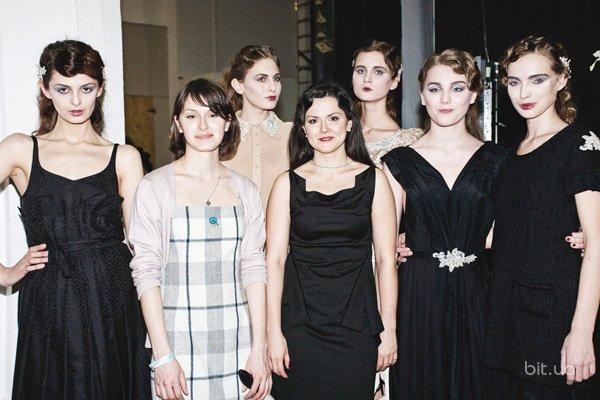 Backstage показа Olena DATS' осень-зима 2013-2014