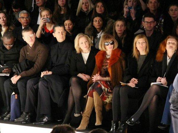 Модное отрицание - кому и зачем нужен первый ряд (2)