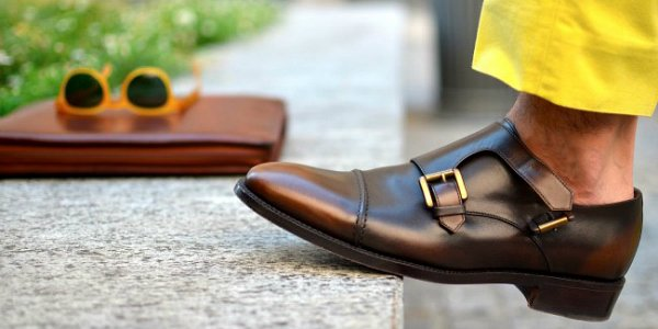 Мужской fashion-ликбез - monk shoes