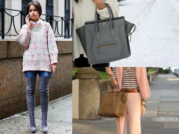 Женский fashion-ликбез как сочетать обувь и сумку (3)