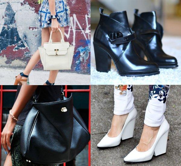Женский fashion-ликбез как сочетать обувь и сумку (4)