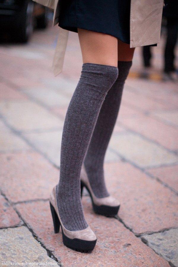 Сочетаем носки с обувью правильно
