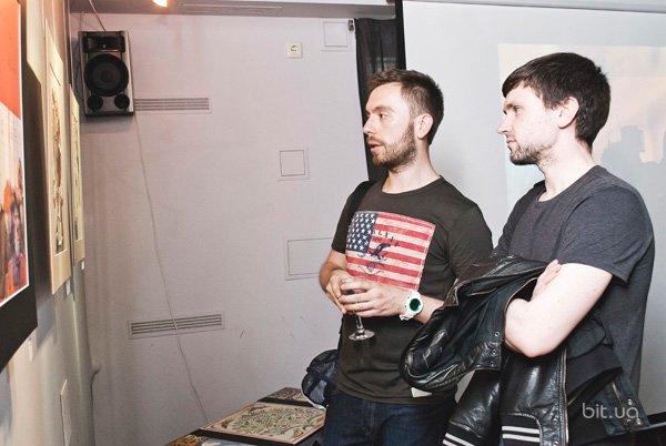 """Вечеринка-открытие экспозиции """"Моды"""" арт-дуэта BRATY"""