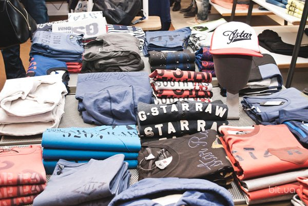 Открытие магазина G-Star RAW в Ocean Plaza