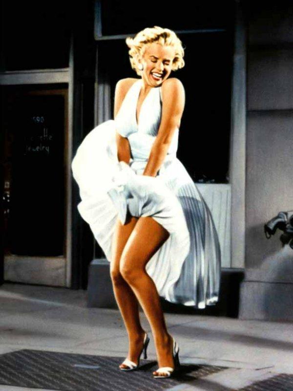 Меринил Монро - Зуд седьмого года, 1955