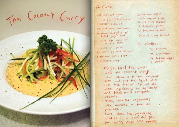 Food-фото: книга raw food рецептов Йонси и Алекса