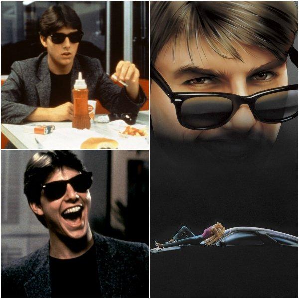 10 пар известных солнцезащитных очков Ray Ban из культового кино