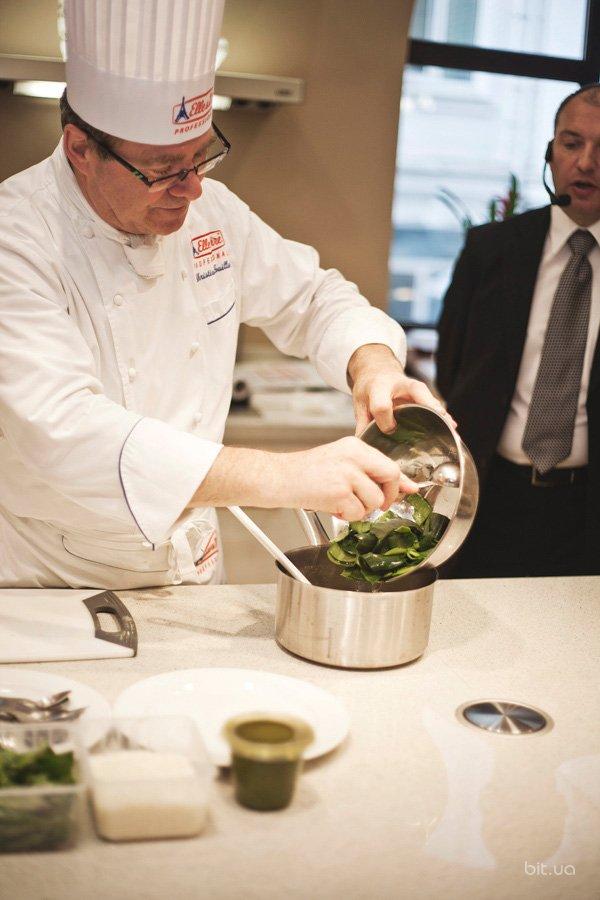 Вечер французской кулинарии с мастер-классом шефа Кристиана Гиллю (фоторепортаж)