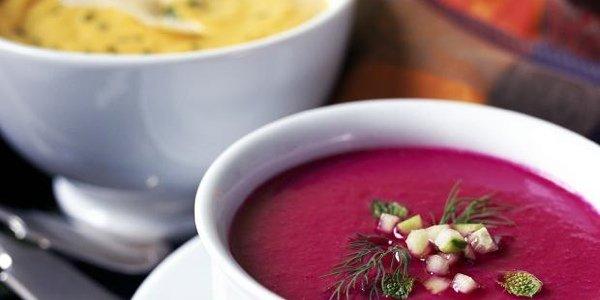 5 рецептов летних холодных супов - окрошка, гаспачо, холодник, вишизуаз и суп из авокадо
