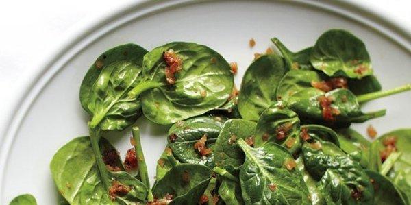 5 рецептов начала лета со шпинатом