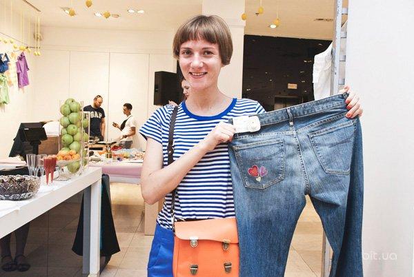 Вечеринка Print Your Shorts в GAP