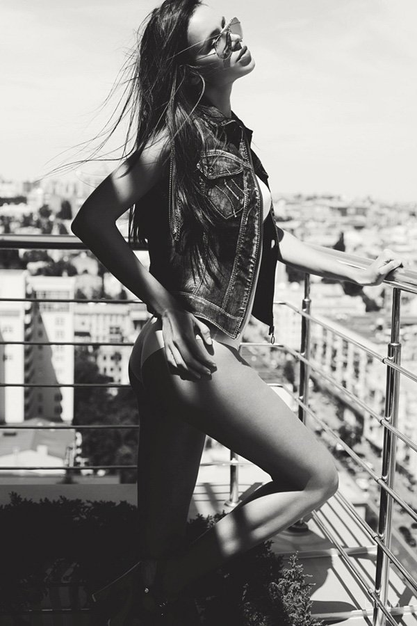 Models off duty - Дарья Мусиенко