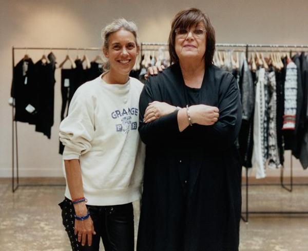 Изабель Марант и креативный консультант H&M Маргарета ван ден Бош