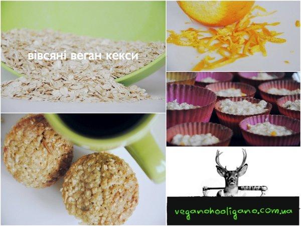 Вегано-блог: сила овсяных кексов