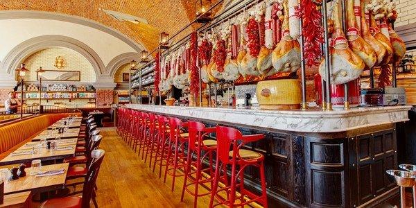 Открытие ресторана Jamie`s Italian в Петербурге