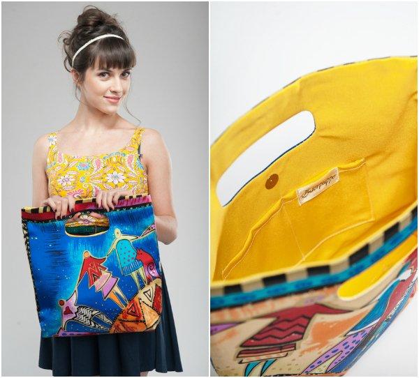 """Лимитированная дизайнерская сумка """"Танец"""""""