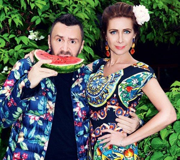 Ника Белоцерковская и Сергей Шнуров