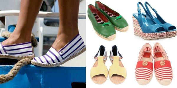 Выбор редакции: 25 моделей обуви на джутовой подошве для лета 2013