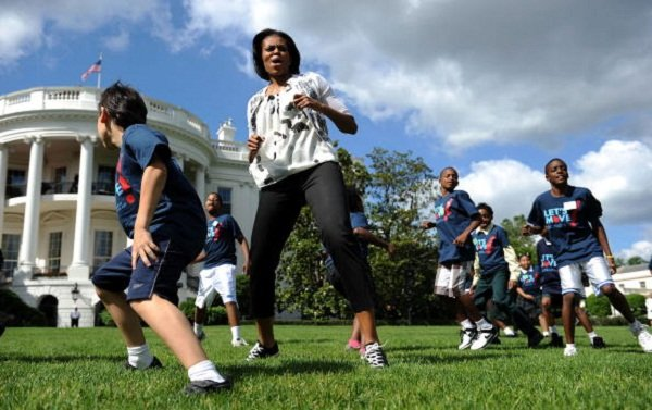 US First Lady Michelle Obama kicks-off t