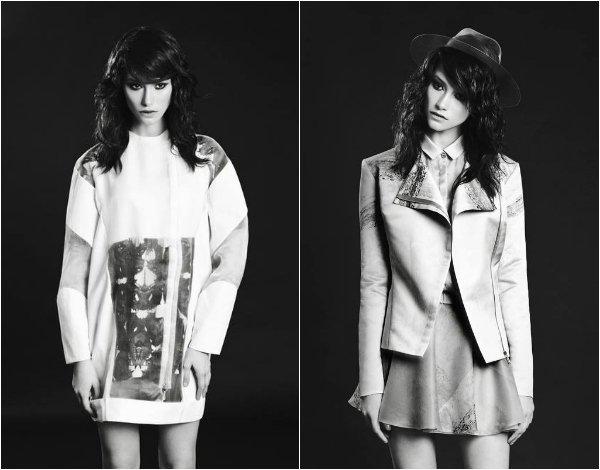 Два любимых кадра Ани из съемки для vogue.it. Фото - Антон Коваленко