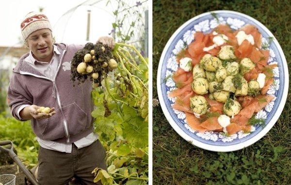 Видеорецепты: блюда из картофеля от Джейми Оливера
