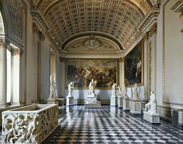 Galleria-degli-Uffizi-Sala-di-Niobe-Florence