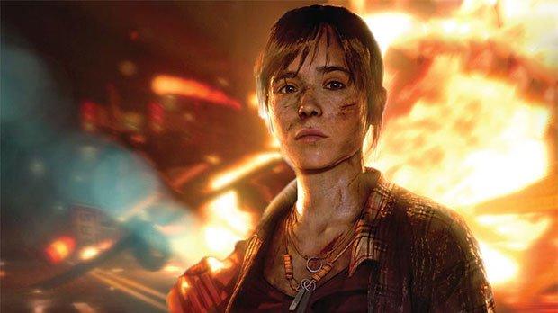 Этой осенью выйдет Beyond: Two Souls, где главную роль буквально сыграла Эллен Пейдж
