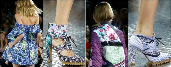 Mary Katrantzou весна-лето 2014 на London Fashion Week