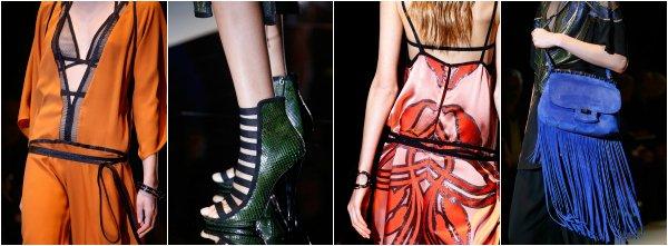 Gucci весна-лето 2014 на Milan Fashion Week