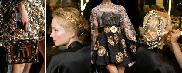 Dolce & Gabbana весна-лето 2014 на Milan Fashion Week