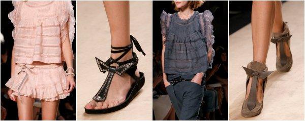 Isabel Marant весна-лето 2014 на Paris Fashion Week